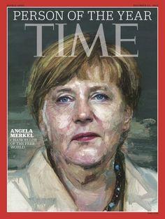 """Donald Trump als schlechter Verlierer: Die """"Time"""" kürte Angela Merkel zur Person des Jahres - nicht ihn. Die Wahl sei auf eine Frau gefallen, """"die Deutschland ruiniert"""", raunzte der US-Präsidentschaftsbewerber. Er sei nämlich der große Favorit gewesen."""