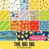 The Big Dig Charm PackWhistler Studios for Windham Fabrics