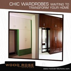 Thinking of redoing your #homedecor? Maybe you should start with these pretty wardrobes..