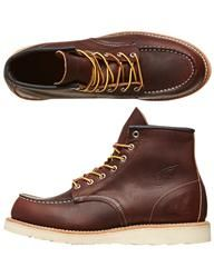 RED WING SHOES HERITAGE WORK MOC TOE BOOTS - BRIAR OIL on http://www.surfstitch.com