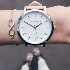 The Horse Watch | www.racheleedson.com           Our style inspiration for our #minimalistjewelry #minimalistjewellery #minimalist #jewellery #jewelry #jewelleries #jewelries #minimalistaccessories #bangles #bracelets #rings #necklace