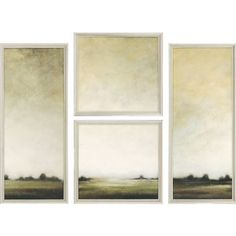 """Paragon Today's View by Ridgers Contemporary Art (Set of 2) - 25"""" x 25"""" - 7587"""