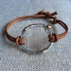 Guitar string handcrafted bracelet. VanTassell & Nash
