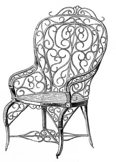 Wicker Garden Chair