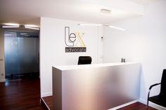 Completa rehabilitación y reforma integral del despacho de abogados Lex en Sabadell, Barcelona.