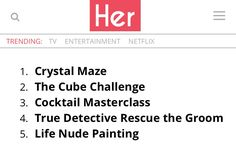 These are the 5 most popular hen party activities Crystal Maze, True Detective, Hens Night, Party Activities, Most Popular, Master Class, Party Ideas, Entertaining, Life