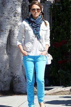 Teenage dream: Jessica Alba: Street Style