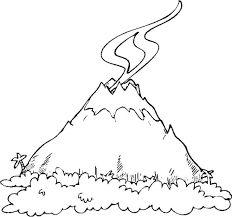 Resultado de imagen para dibujos de volcanes para niños