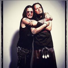 Ozzie and Jonathan Davis