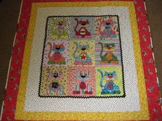 Caterday Quilts: August 3 Evening As evening rolls around on a lovely August day, it's nice to see the affection we have for our pets and how that's reflected in our quilts and fabric art. It's Caterday. Here are three works posted this afternoon that we think you'll enjoy.