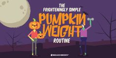 These simple pumpkin exercises ensure you are a fit gypsy, a limber ghost, or just a downward-dogging little devil in the pumpkin patch this year. Fitness Tips, Health Fitness, Holiday Workout, Beachbody Blog, Downward Dog, Loose Weight, Exercises, Workouts, Fit Women
