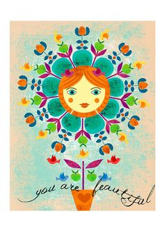 you are beautifullimited edition art print of my by sevenstar, $21.00