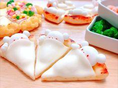 #clay #polymerclay #charms #jewelry #food #foodie #art #handmade #handcrafted #diy #esty #crafts #kawaiicharms #kawaii #cute #bear #pizza