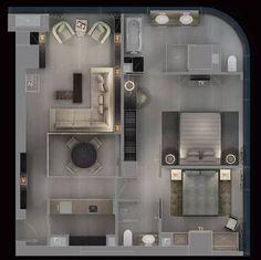 (稀世臻奢 · 独家首发)乔治.阿玛尼先生亲自操刀设计---大中华首家阿玛尼艺术公寓超级豪宅设计方案【名师联1137期】