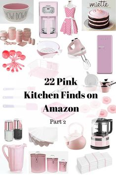 affiliate links, kitchen decor, cottage style, amazon, kitchen finds, pink, pink decor, pink kitchen decor, amazon finds, rae dunn