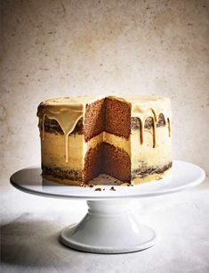 Jamaican ginger and caramel cake Check out this indulgent Jamaican ginger and caramel cake. This layer cake is a real showstopper and makes for the perfect celebration cake, what's more, it's gluten free too
