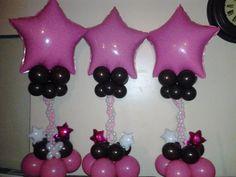 All Star Parade balloon decor