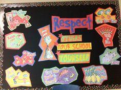 "Dr. Seuss ""Respect"" bulletin board"