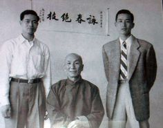 SWK - Ip Man - With Wong Chok (left) and Yip Bo Ching (right)
