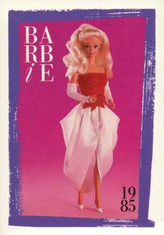 Barbie-Collectible-Fashion-Card-Spectacular-Fashions-1985