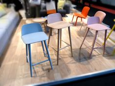 SCP Contracts at Maison & Object // Nerd high stools // Muuto