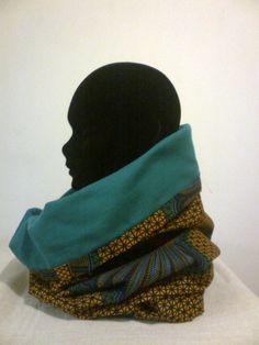 Afrocentric snood..Gota make this in an african print