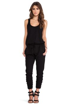 Cute, Comfy what more can you ask for? SLUB TANK JUMPSUIT designer: WILT #REVOLVEclothing