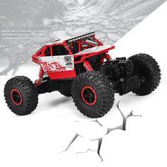 Freies Verschiffen RC Auto 4WD Rock Crawler 4x4 Fahren Auto Doppelmotoren Treiben Bigfoot Auto Fernbedienung Modell Geländewagen spielzeug
