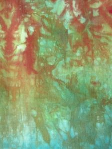 I hand dye fabric: a dye tutorial DIY hand dyed fabric by the Wild Onion, awesome tutorial and what gorgeous fabric!DIY hand dyed fabric by the Wild Onion, awesome tutorial and what gorgeous fabric! Fabric Painting, Fabric Art, Fabric Crafts, Paint Fabric, Painting Tips, Textiles, Fabric Dyeing Techniques, Wild Onions, How To Dye Fabric