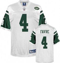 White Brett Favre NFL New York Jets #4 Jersey    ID:89033171  $20