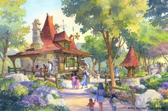 Belle's Village, Tokyo Disneyland, Tokyo Disney Resort