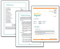 Event Proposal Templates   Pinteres