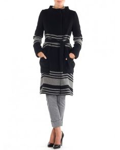 Funnel Neck Coat by Band of Outsiders