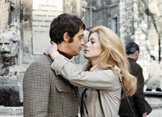 Catherine Deneuve e Jean Paul Belmondo - La Sirene du Mississippi (La Mia Droga Si Chiama Julie) - 1969 - Francois Truffaut