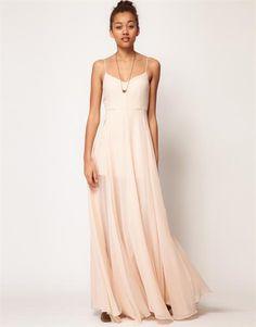 Купить платье в пол шифоновое
