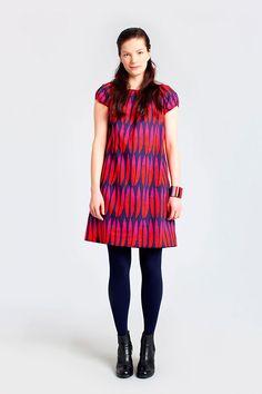 Pattern Design - Mika Piirainen for Marimekko - CoDesign Magazine Bold Fashion, Fashion Prints, Fashion Design, Beautiful Dresses, Nice Dresses, Marimekko Dress, Textiles, Passion For Fashion, Pattern Design