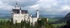Neuschwanstein Castle. The castle in Germany that inspired Disney's Sleeping Beauty