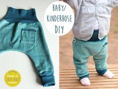Kindertage | Unisex Babyhose / Kinderhose DIY | http://kindertage.eu
