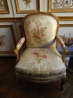 Château de Versailles ~ L'appartement de Madame du Barry.