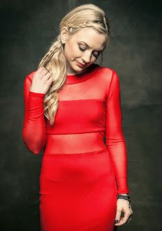 #EmilyKinney photographed by Larry Busacca during the American Country Countdown Awards 2014