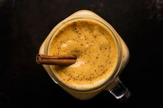 Thick, creamy and packed with real pumpkin, this pumpkin pie protein smoothie recipe is healthy and energy-packed.