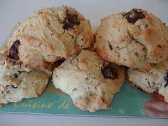 Cookies aux pépites de chocolat # recette américai...