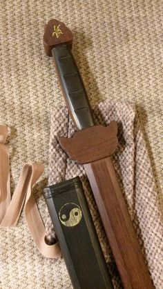 handcrafted jian training sword and scabbard