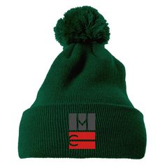 Magcon Tour Embroidered Knit Pom Cap 146ded0f1757