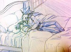 Anime Couples Drawings, Couple Drawings, Reimei No Arcana, Anime Manga, Anime Art, Elias Ainsworth, Garden Of Words, The Ancient Magus Bride, Anime Kawaii