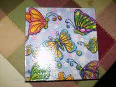 1000 images about manualidades con servilletas de papel - Servilletas de papel decoradas para manualidades ...