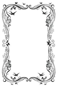 19 Decorative Border Designs Images - Free Clip Art Borders, Free ...