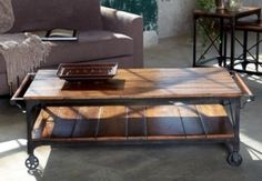 Sitcom Furniture, Marlee Industrial Coffee Table by D Mac