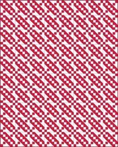 Jacob's Ladder quilt pattern