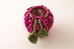 Pink Lady Apple/Fruit Cozy Candy Print and Tea by HandmadeHealth, $7.00